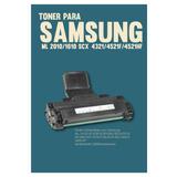 Toner Para Samsung Ml 2010/1610 Scx-4321/4521f/4521hf