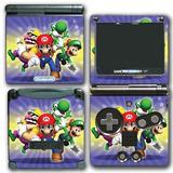 Super Mario Amigos Bros Yoshi Wario Luigi Videojuego Vinilo