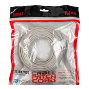 Cable De Red Patch Cord Utp 15 Metros Notebook Router Wifi