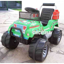 Auto Jeep Karting Explorator 12v A Bateria Niños Circusplay