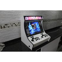 Gabinete Fliperama Bartop Portatil Pinball Virtual Hyperspin