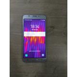 Smartphone Samsung Galaxy J7 Metal Dual Chip Tela Trincada