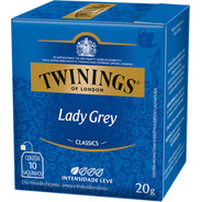 Chá Twinings Lady Grey 10 Sachês