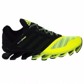 91701c62e26 Tenis Faksine - Tênis Adidas para Masculino Amarelo no Mercado Livre ...