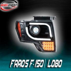 Faros Para Lobo / F-150 Ojo De Ángel Y Led Mod. 2008 - 2014