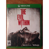 Juego Xbox One The Evil Within Original