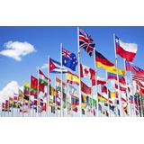 Bandera De País 90x150cm, Previo Acuerdo Envío Incluído