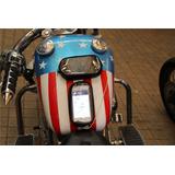 Bolsa Porta Celular Gps Magnética Impermeável Tanque Moto