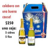 Canasta De Bebidas P/fiesta (anana Fizz Y Sidra)