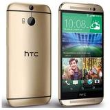 Htc One M8 4g Lte 2gb 32gb Quadcore Libre Android Dorado Oro