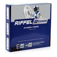 Kit Relação Cg 150 Titan/ Fan/ Start (04-15) Riffel Titanium