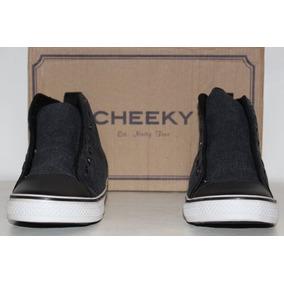 Zapatillas Cheeky Grises Oscuro Para Niño (nuevas) Talle 33