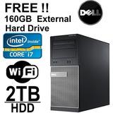 Ordenador De La Torre Dell Optiplex 990 | Intel Core I7 3.4