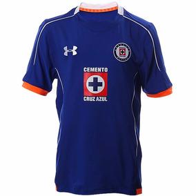 Playera Jersey Cruz Azul 15/16 Niño Under Armour Ua1528