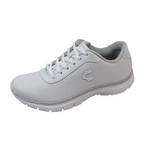 Zapato Escolar Tennis Charly 18-1042076 Niña Blanco Rudos