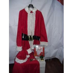 Santa Claus Traje Completo Por $ 3,600.00 Nvb Envio Gratis