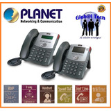 Telefono Vo Ip Planet 550 Pt - 2 Lineas - 3 Way Conference