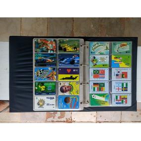 Coleção Com 680 Cartões Telefônicos