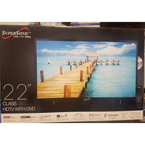 Television De 22 Con Dvd Supersonic*