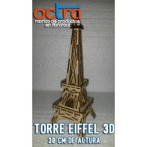 Centro De Mesa Torre Eiffel 30 Cm