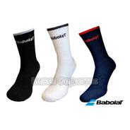 Medias Babolat Logo Team Pack X 3 Talle L Tenis Padel