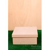 Cajas En Madera Fibrofacil Para Pintar 30x30x12