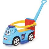 Veículo Para Bebê Big Truck Policia 3x1 Merco Toys