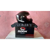 Casco Roda Abatible + Red Portabultos Gratis