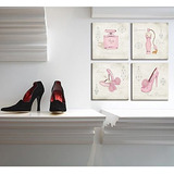 Cuadro Decorativo Visual Art Para Cuarto De Mujer