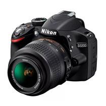 Camera Nikon D3200 + 18-55mm Nova Com Garantia
