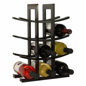 Cava De Madera Fina Porta 12 Botellas De Vino Color Chocolat