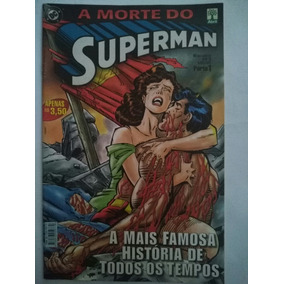 A Morte Do Superman 3 Vol. Comp. Ed. Abril