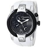 Mulco Unisex Mw Ilusion Crescent Analog Display Reloj W13