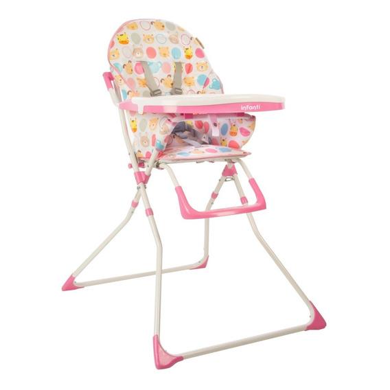 Silla De Comer Bebe Infanti Candy Hc15 Doble Bandeja Env Gra