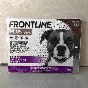 Oferta! Paquete De 3 Pipetas Frontline Plus 20 A 40 Kg