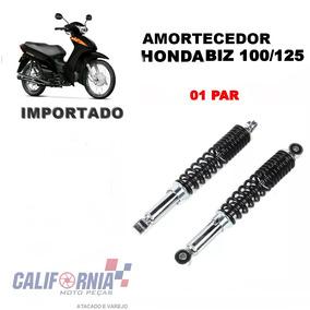 Amortecedor Traseiro Honda Biz 100 / Biz 125 (par) Importado
