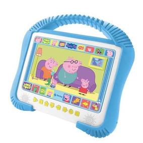 Dvd Player Tectoy Usb Peppa Pig Kids Portatil Tela 7 Pol