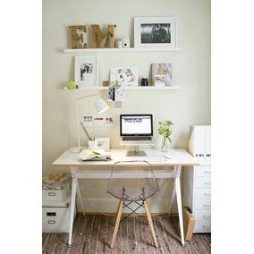 escritorio vintage blanco mate