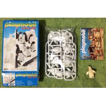 Playmobil 3671 Pinguinos Color Zoologico Animales Ciudad Saf
