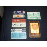 Lote De 5 Calendarios De Bolsillo De Bancos ...