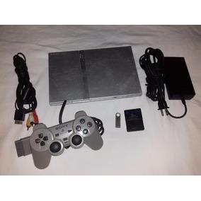 Consola Sony Ps2 Silver Chip Virtual Juegos Y Emuladores Usb