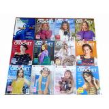 N°16 El Gran Libro Del Crochet Clarin 2007 12 Cuadernos