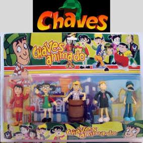 Coleção A Turma Do Chaves C/5 Bonequinhos Promoção