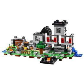 Castelo Minecraft 795 Pçs Blocos De Montar Frete Grátis