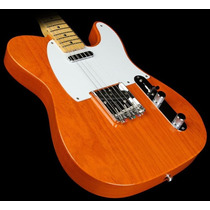 Guitarra Electrica Texas Telecaster 2 Mics Amber