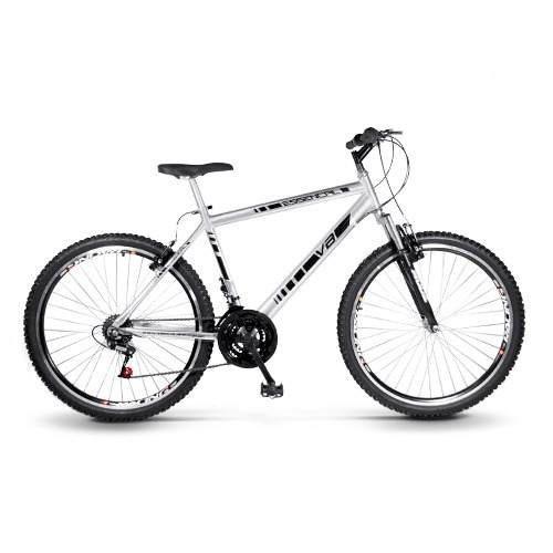 Bike Essencial Alumínio Aro 26 21 Marchas Freio Vbrake Masc