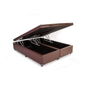 sp cama box king conjugado na cor cereja frete gr c3 a1tis p casa