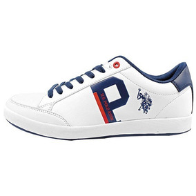 Tenis Casual U.s. Polo Assn 74335 Blanco 100% Originales
