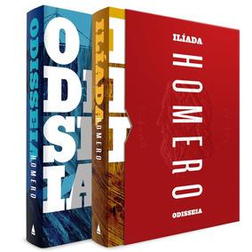 Livro Odisseia E Ilíada Homero Caixa 2 Volumes Box - 10% Off