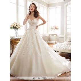 Lindisima Vestido De Novia Importado Nuevo Talle6.8 En Stock